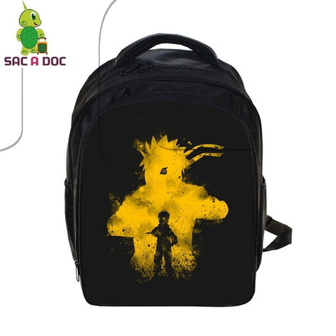 Anime Naruto Children School Backpack Boys Girls Book Bag Naruto Sasuke Outline School Bags Kids Primary Kindergarten Backpack Shop3126025 Store 1