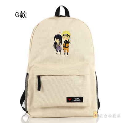 Anime Naruto Cosplay Anime around the student backpack cartoon cute backpack boys and girls birthday gift Hangzhou Manxia Backpack Store 2