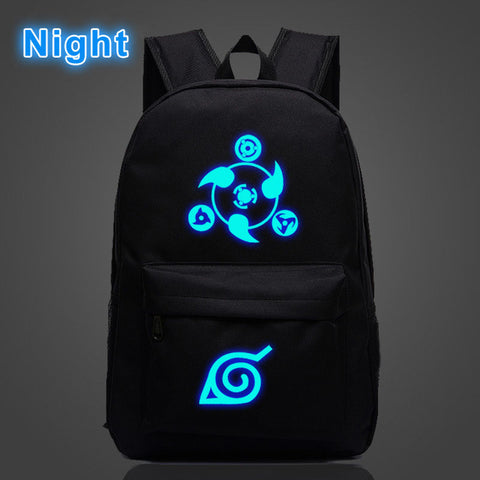 Anime Naruto Cosplay Luminous School bag Travel Backpack For Teenager Laptop Backpack YUANMAN Store 1
