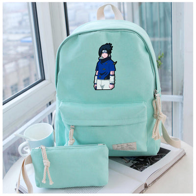 Anime Naruto Cosplay Male and female students cute casual fashion backpack multi-functional backpack Hangzhou Manxia Backpack Store 1