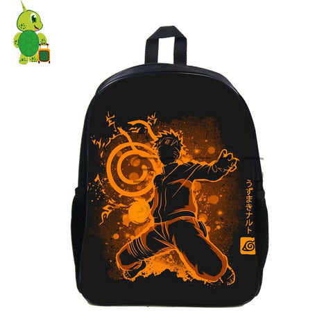 Anime Naruto Fluorescence Backpack Children School Bags Uzumaki Naruto Boys Girls School Bags Students Laptop Travel Bags Anime Bag World Store 1