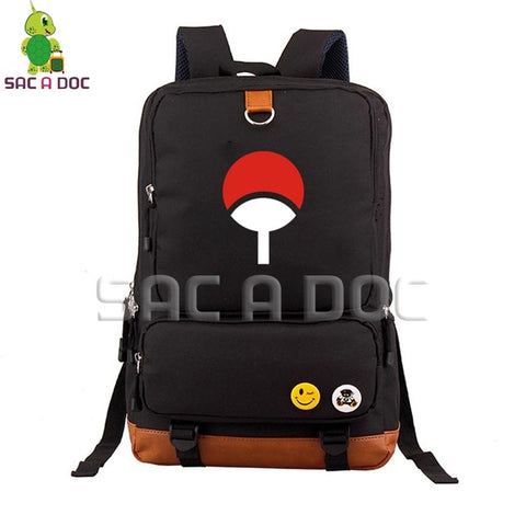 Anime Naruto Uchiha/Sharingan School Bag Women Men Laptop Backpack for Teenage Boys Girls Travel Shoulder Bags Daily Backpacks Shop3126025 Store 1