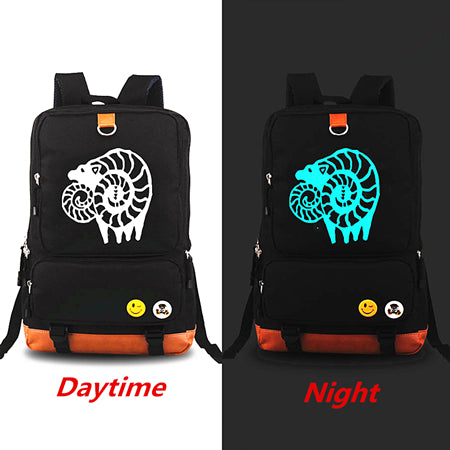 Anime Original The Seven Deadly Sins Backpacks Luminous Knapsack Teenagers  Men Women s Student School Bags Travel 310eb097d867e