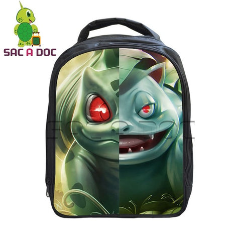 Anime Pokemon Children School Bags Cartoon Bulbasaur Venusaur Split Kindergarten Backpack Girls Boys School Bags Kids Bookbag Shop3126025 Store 1