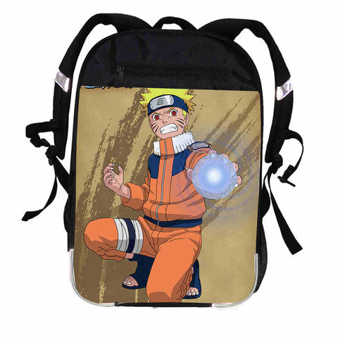 Anime Printing Uchiha Sasuke Backpack Women Men Uzumaki Naruto Ninja Causul Boys Girls School Bags Male mochila Kpop Bagpack ZIRUN ZQLI Store 1