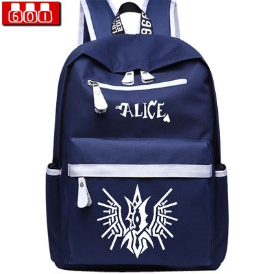 Anime TouHou Projec Cosplay Male and female campus student backpack leisure travel backpack child birthday gift Hangzhou Manxia Backpack Store 2