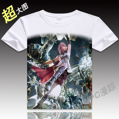 Anime Unisex Tops Tee Japanese Anime Tops Final Fantasy Cosplay T shirt Men Casual Cosplay T Shirts VXOFashion Store 1