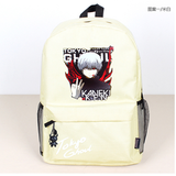Anime tokyo ghoul Cosplay Male and female high school student travel canvas bag casual backpack Hangzhou Manxia Backpack Store 8