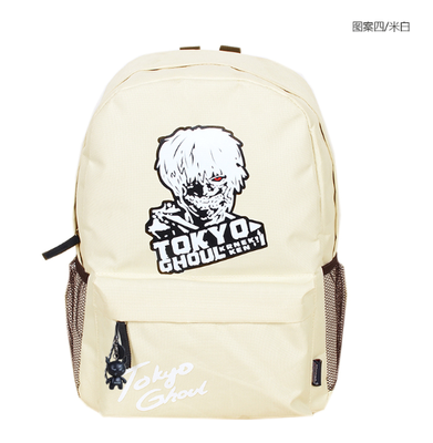 Anime tokyo ghoul Cosplay Personality youth male and female students campus fashion cute leisure large capacity backpack Hangzhou Manxia Backpack Store 1