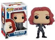Officially Licensed POP! Marvel: Captain America Civil War ~ Black Widow Vinyl Figure - Animetee