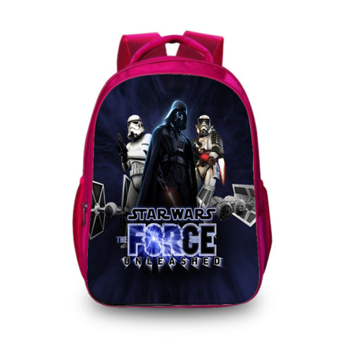73dd1aedb918 BAOBEIKU New 3D Backpack Star Wars Printing Fashion Cartoon Characters Cool School  Backpacks For Kids Men