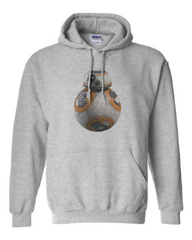 Star Wars VII Force Awakens BB-8 BB8 Hoodie Hooded Sweatshirt - Animetee - 1