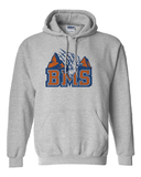 Premium BMS Blue Mountain State College Football Goat Logo Hoodie Hooded Sweatshirt - Animetee - 1