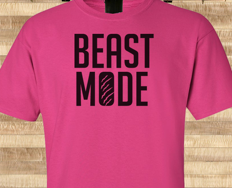 Pop Culture Trendy Beast Mode Marshaw Lynch Crotch Grab Seahawks Tshirt Tee T-Shirt Ladies Youth Adult Unisex - Animetee - 1
