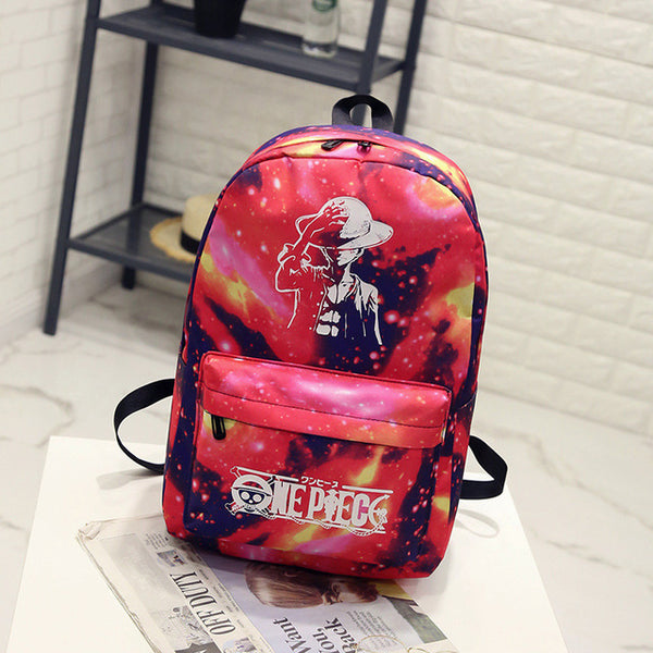 Cool Backpack school BONAMIE Night Light Cool Backpack Canvas Backpack –  2018 AT 142 30 (Animetee.com Friends) e1a9174a355e3
