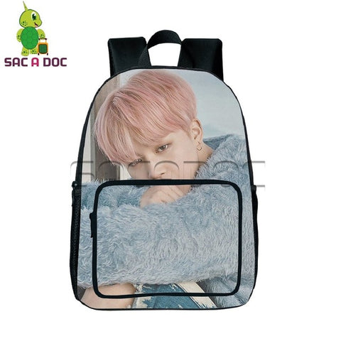 BTS Backpack for Teenagers Hip Hop Bangtan Boys Daily Laptop Backpack Kpop Idol SUGA V JIMIN Printing Boys Girls School Bookbag Shop3126025 Store 1