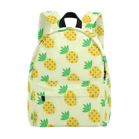 de6d6090a Backpack Colorful Pineapple Backpacks Fruit Backpacks for Girls Canvas  Bookbags Gift for Teenage Girls Boys Backpack
