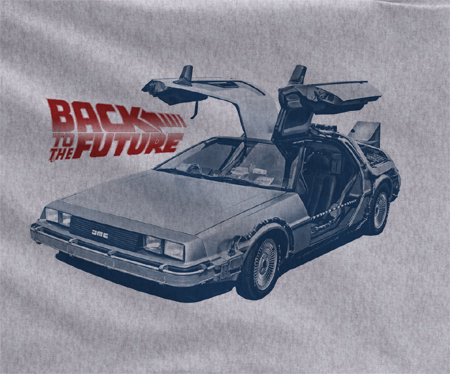 Back to the Future 1 2 3 DeLorean DMC-12 Doc Marty Mcfly shoes Car 88 mph model kit 80s tee tshirt t-shirt - Animetee - 1