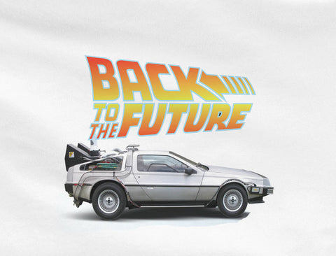 Back to the Future 1 2 3 DeLorean DMC-12 Doc Marty Mcfly shoes Car 88 mph model kit 80's tee tshirt t-shirt - Animetee - 1