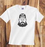 Trendy Pop Culture Fear the Beard Baseball SF San Francisco Giants t-shirt tshirt Toddler Youth Adult Unisex Ladies All Sizes - Animetee - 1