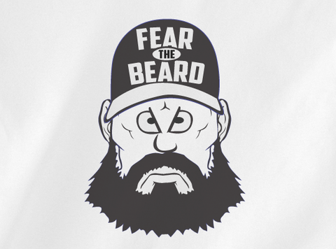 Trendy Pop Culture Fear the Beard Baseball SF San Francisco Giants t-shirt tshirt Toddler Youth Adult Unisex Ladies All Sizes - Animetee - 2