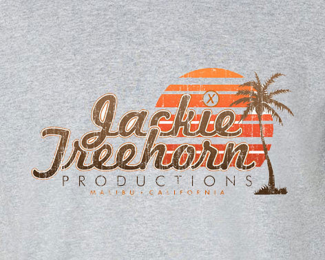 Big Lebowski The Dude Abides Jack Treehorn Productions Tee T-Shirt - Animetee - 1
