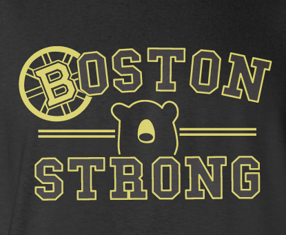Trendy Pop Culture Boston Bruins Strong Stanley Cup Hockey t-shirt tshirt Unisex Toddler Ladies All Sizes - Animetee - 2