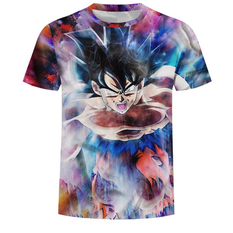 Brand Dragon Ball T-shirt 3d T-shirt Anime Men'S T Shirt Funny Tee Shirts Hip Hop New 2018 Japanese Mens Clothes Vintage Clothes The gym Store 1
