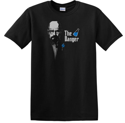 Godfather parody Walter White Crystal Meth Danger T-Shirt - Animetee - 1