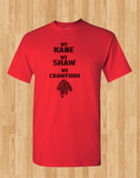 Red Custom 1 Color Chicago Blackhawks Hockey We Kane We Shaw We Crawford Tee Tshirt T-Shirt - Animetee - 1