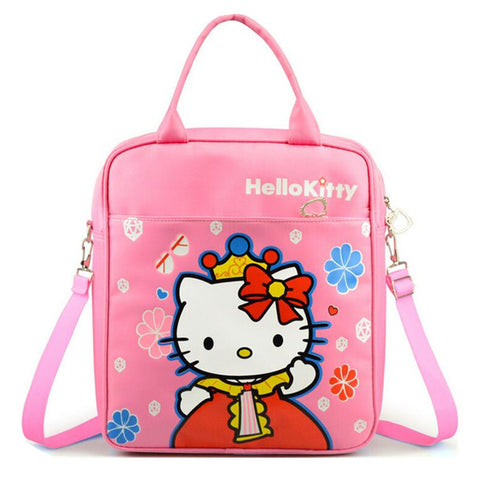 Cartoon Hello Kitty Girl Boys Schoolbag Japan Anime Backpack for Children Kids Waterproof School Bag Bookbag mochila escolar Dearest Yomi Bag Store 1