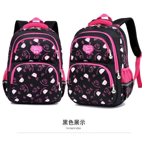 School Backpack Children School Bags girls kids Orthopedic scoolbags  Backpack kids satchel Mochila Infanti Primary s sac enfant P AT_48_3