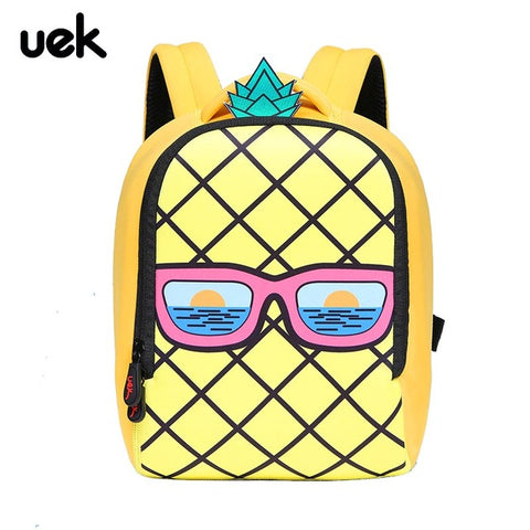 c05abf17eaa Christmas Super Cute Pineapple Children Backpacks Kindergarten Schoolbag Kids  Backpack Children School Bags for Girls Boys