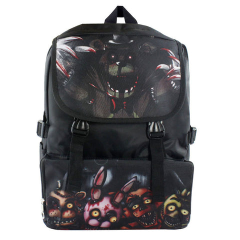 Cool Five Nights at Freddy's Student Teens Boys Girls School Bag Backpack Cartoon Anime FNAF Cool Travel Backpack Black Backpack Shop3126025 Store 1