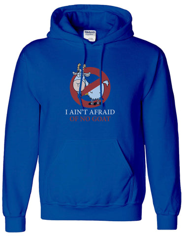 Chicago Cubs Bill Murray Ghostbusters Parody Hoodie Hooded Sweatshirt Cubs I ain't afraid of Goats - Animetee - 1