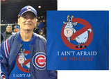 Chicago Cubs Bill Murray Ghostbusters Parody Hoodie Hooded Sweatshirt Cubs I ain't afraid of Goats - Animetee - 2