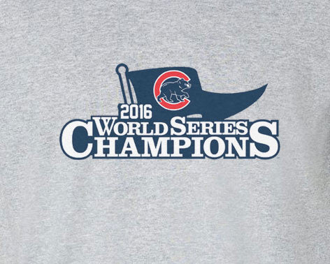 2016 Chicago Cubs World Series Champs Champions Tee T-Shirt - Animetee - 1