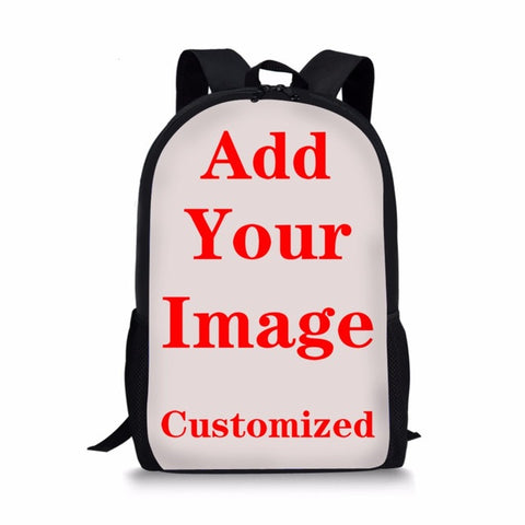 ce54007ca7c0 Customized 3D Printing Blue Rose Florals School Bags for Boys Light Weight  School Orthopedic Backpack Bookbag