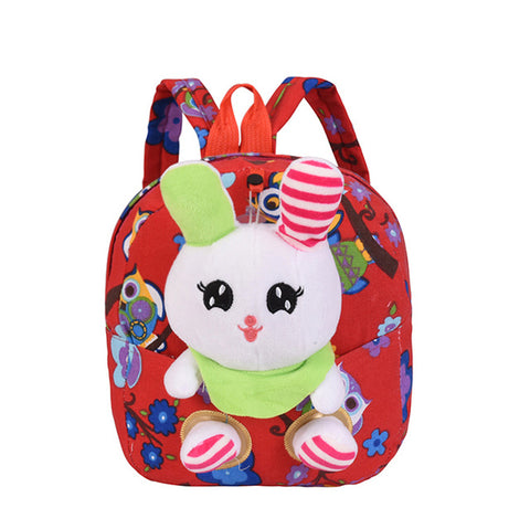 d620563061 School Backpack Cute Animal rabbit Backpack Kids School Bags For Girls  Cartoon Children Backpacks kindergarten Baby Bag Aged 1-3 AT 48 3
