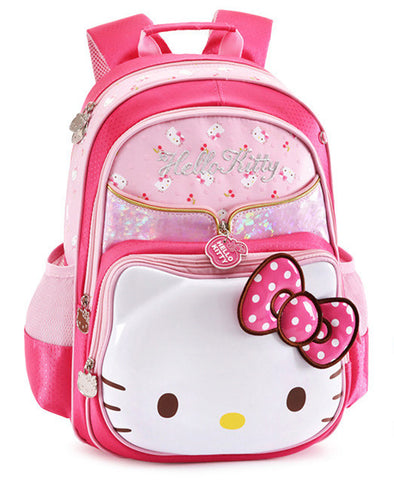 7a4ac2e1ff0f ... Cute Hello Kitty Bag Primary Elementary School Backpacks Schoolbag  Rucksacks Children School Bags for Girls Kids ...