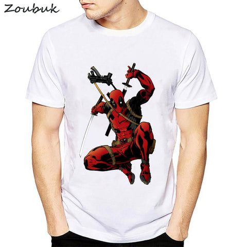 6932d1a07ffbb Deadpool t shirt men fashion dead pool anime t-shirt Cool Men tshirt  clothing cotton