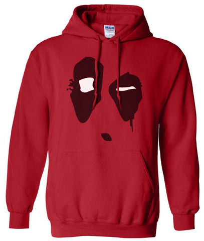 Deadpool Dead pool movie Merc with mouth Hoodie Hooded Sweat shirt Sweatshirt - Animetee - 1