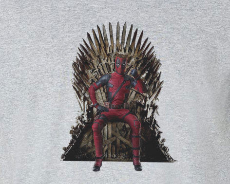 Deadpool Game of Thrones Parody Tee T-Shirt Shirt - Animetee - 1