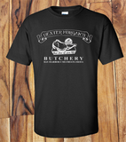 Trendy Pop Culture Dexter Morgan Butchery Best slice of Life Miami Florida tee t-shirt tshirt Toddler Youth Adult Unisex Ladies Female Black - Animetee - 1