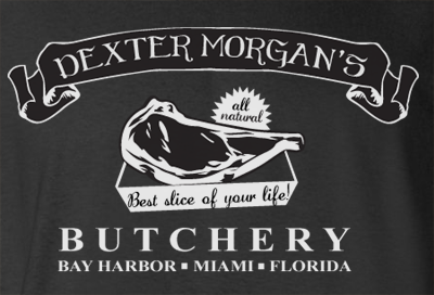 Trendy Pop Culture Dexter Morgan Butchery Best slice of Life Miami Florida tee t-shirt tshirt Toddler Youth Adult Unisex Ladies Female Black - Animetee - 2