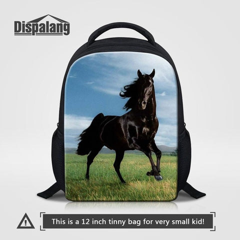 28c3edd07d0e ... Dispalang 12 inch Mochila Kids School Bags Crazy Horse Mini Baby Toddler  Book Bag Kindergarten School ...