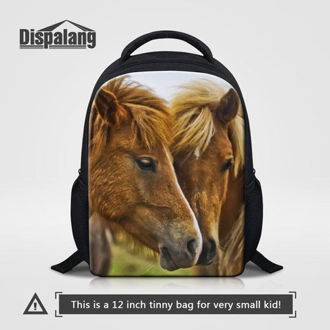 8067d2b5967c ... Backpack Preschool Bag AT 50 3. Dispalang 12 inch Mochila Kids School  Bags Crazy Horse Mini Baby Toddler Book Bag Kindergarten School