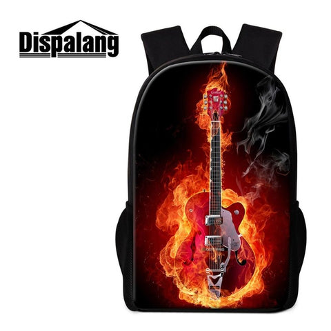 Cool Backpack School Dispalang Cool Backpack For Teens Design Music Note Personalized Bookbag For Boy School Book Bags For Child Trendy Back Pack