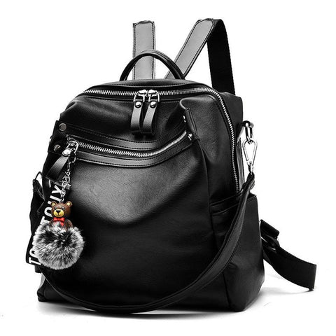 Double Shoulder Bag Female Bag 2018 New Style Fashionable Female Student Backpack Fashion Casual Korean Of Double Shop4296026 Store 1