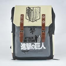Double Straps Anime Japanese Cartoon Attack on Titan Backpack Children Schoolbag Teenager men women Preppy Shoulder Bag Fairy Bag Store 1